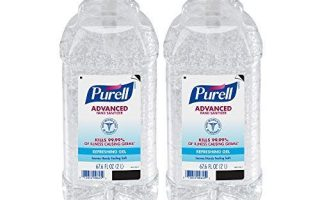 PURELL Advanced Händedesinfektionsmittel, Erfrischungsgel, 2-Liter-Händedesinfektionsmittel-Pumpflaschen ...