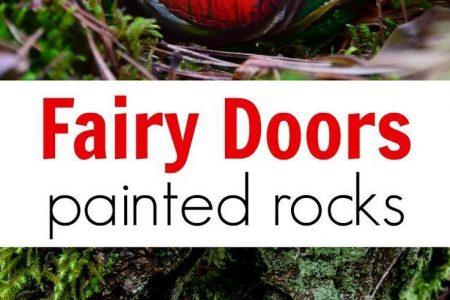 DIY Feen Türen von Painted Rocks | Abenteuer in einer Kiste - Erfahren Sie, wie ... - DIY Feen Türen von Painted Rocks | Abenteuer in ein ...