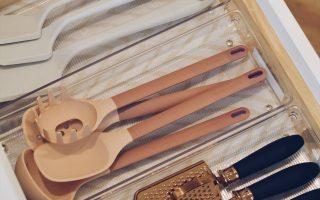 Küchenorganisation: So organisieren Sie Ihre Küchenschubladen - The Pink Dream