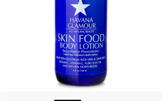 Skin Food Body Lotion mit Aloe Vera & Traubenkernzellen