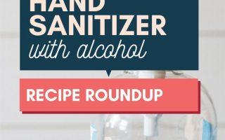 Hausgemachte Händedesinfektionsmittel + Häkeln Sie gemütliche Muster