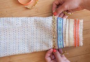 DIY // Ribbon Trim Boucle Jacket - Der mühelose Chic