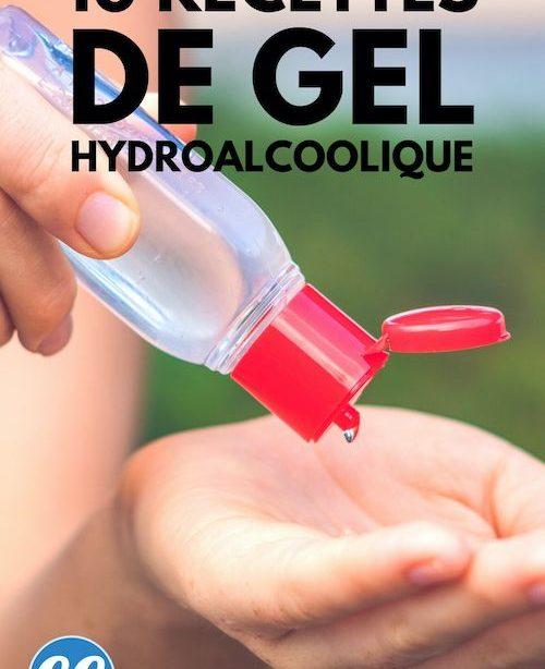Coronavirus: 10 Recettes Faciles Gießen Faire Son Gel Hydroalcoolique Maison.