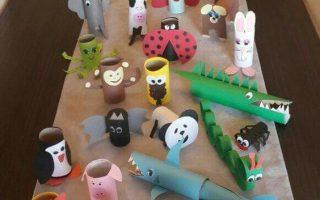 Kommen Sie riciclare i rotoli di carta igienica con i vostri figli: tante idee super kreativ (ottimi lavoretti per le scuole)   #riciclo #animal ...