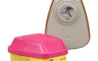 3M Organische Dampf- / Säuregaspatrone / Filter 60923, P100 Atemschutz (2er Pack)
