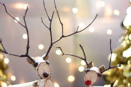 Skandinavische DIY Weihnachtsdeko und Bastelideen zu Weihnachten #adventskranzaufbaumscheibe Skandinavische DIY Weihnachtsdeko und Bastelide ...