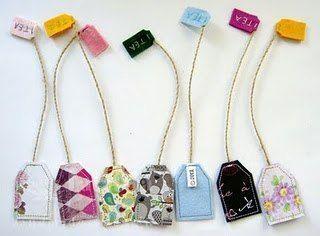 Tonnenweise Nähprojekte für Schrottstoffe #nähen von DIY-Teebeuteln Lesezeichen aus Schrott und anderen Nähprojekten für Anfänger, die ...