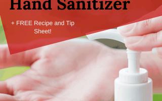 Hausgemachte Hand Sanitzer: Rezepte für DIY Spray, Gel und Desinfektionsmittel
