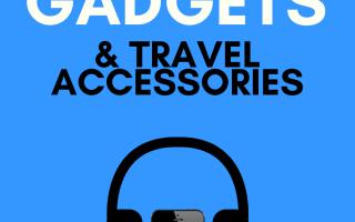 26 Muss Reise-Gadgets & Ausrüstung haben