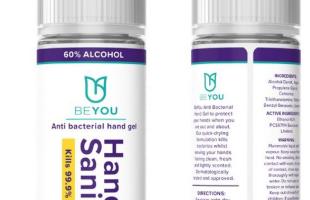 BEYOU Händedesinfektionsmittel