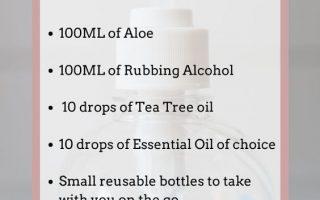 Liste der grausamkeitsfreien natürlichen Händedesinfektionsmittel. Hausgemachtes DIY Händedesinfektionsmittelrezept. Dieses Rezept für Händedesinfektionsmittel enthält Alkohol und ...