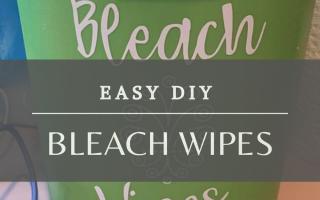 Die Herstellung dieser DIY Bleach Wipes ist schnell und einfach. Für hausgemachte Clorox-Tücher benötigen Sie nur wenige Zutaten. Dies ist ein großartiges Rezept, um ...