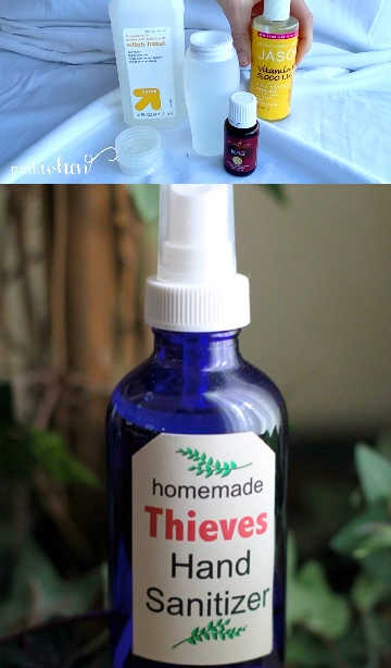 DIY Händedesinfektionsmittel ohne Alkohol!