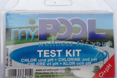 Wasserpflege »Chlor- und pH-Testgerät«, inkl. Poolpflege