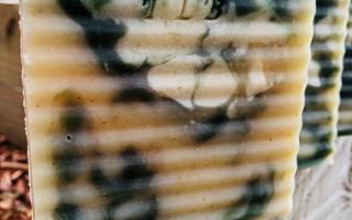 Tahitian Ingwer & Limettencreme Ziegenmilchschaum ALLE NATÜRLICHEN Zutaten: Ätherische Öle - Limette Tahitian Holz Gemahlener Ingwer Limettensaft Fre ...