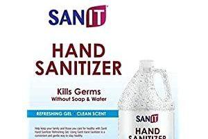 Händedesinfektionsgel: Ein Gallonen-Nachfüllkrug auf Alkoholbasis (128 oz) von Sanit