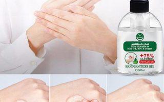 500ml Antibakterielles Desinfektionsgel Gel Tragbares Händedesinfektionsmittel Einweg-bakteriostatisches Händedesinfektionsmittel ohne Waschmittel für Kinder Erwachsene