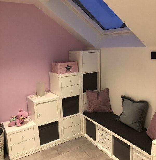Die ultimativen Kinderzimmer Eck-Kombination aus Ikea Kallax Regalen
