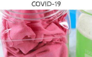 Natürliche, hausgemachte Reinigungsprodukte zur Verhinderung der Ausbreitung von COVID-19