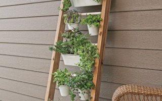 Clevere vertikale Kräutergärten, in denen auf kleinem Raum viele Kräuter wachsen! - Gartentherapie