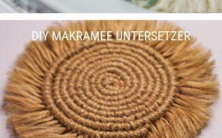 Makramee Untersetzer selber machen - Pimp Your Stuff