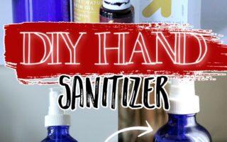 DIY HAND SANITIZER SPRAY (kein Alkohol!)