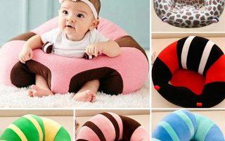Baby Support Plüsch Sitz Sofa Bunte weiche Baby Stuhl für Kleinkinder lernen zu sitzen