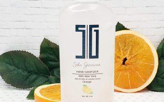 Händedesinfektionsmittel Orange