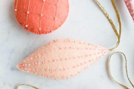 Wenn ich mehr Stunden hätte: 9 handgemachte Ornamente - Flachs & Schnur