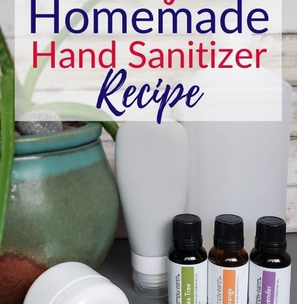 Einfache hausgemachte DIY Händedesinfektionsmittel Rezept