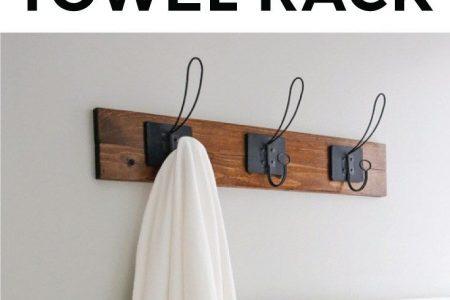 DIY Handtuchhalter im Bauernhausstil - Angela Marie Made