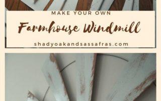 Machen Sie Ihr eigenes Farmhouse Windmill Dekor -