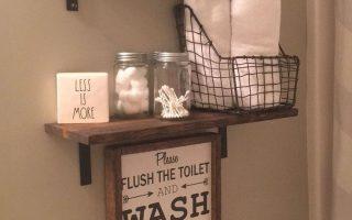 25 einfallsreiche Aufbewahrungsideen für das Badezimmer leicht gemacht, #stow ... - 25 imagina ...