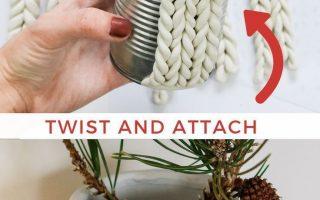 Chunky Knit Planter Ebendiese werden die neue Version seitens Chunky Knit gefal ...