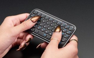 Mini Bluetooth Tastatur - Schwarz