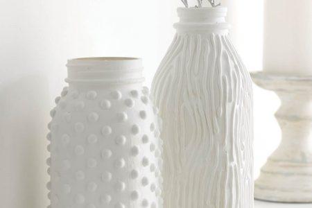 13 DIY Upcycled Flaschen und Gläser | Kunst und Nobel
