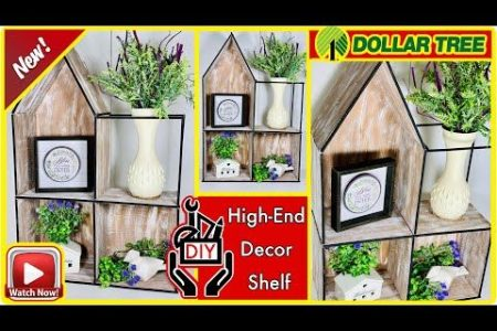 Dollar Baum DIY moderne High-End-Dekor Regal | Günstige DIY Raumdekor Regale | Budget Dollar Store DIY