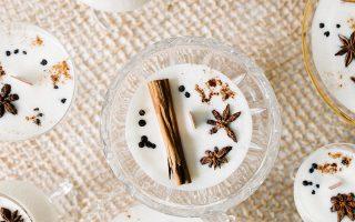 Eierlikör Soja Wachs Kerze DIY mit ätherischen Ölen | Jojotastic