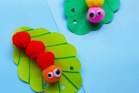 Pom Pom Caterpillar Handwerk - viele viele Informationen hier für Kabinendekor In Suchen, wenn Sie suchen anders anders Pom Po - #babyroom ...