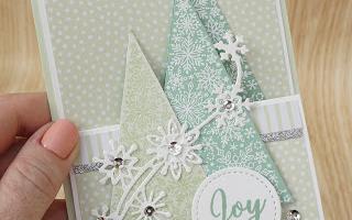 JAI 435 Inspirationsherausforderung - glitzernde Weihnachtsbäume