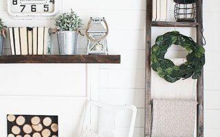 DIY Farmhouse Deckenleiter für 5 $