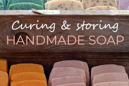 So heilen Sie handgemachte Seife + Ideen für die Aufbewahrung • Lovely Greens