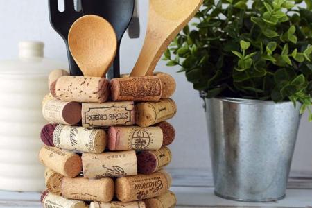 Wine Cork Craft - DIY Utensilienhalter - mein Blog - Wine Cork Craft - DIY Utensilienhalter - Effektive Bilder, die wir durch DIY Furnitu ...