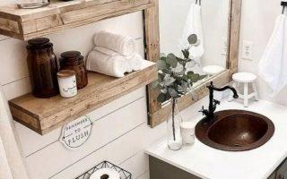 DIY Badezimmer Ideen (DIY Badezimmer Lagerung, Eitelkeit und Dekorationsideen) #bathroom ...