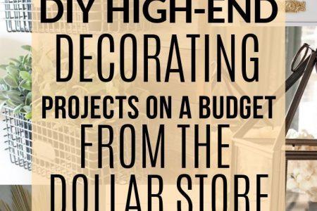 Erfahren Sie, wie Sie Ihre wahrgenommen werden, um Artikel aus dem Dollar Store in schicke ...