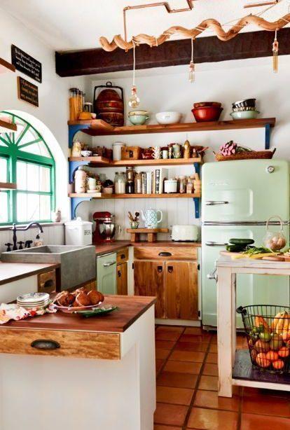 20 schöne Retro-Küche # Design-Ideen - Interior Design-Ideen & Home Decorating ...
