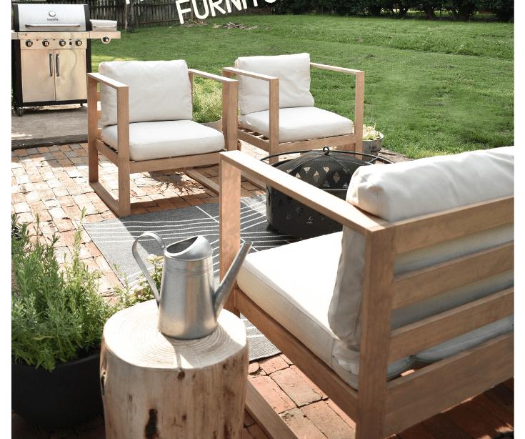 # möbel DIY moderne Gartenstühle Haus in der Longwood Lane #backyardmakeover D ...