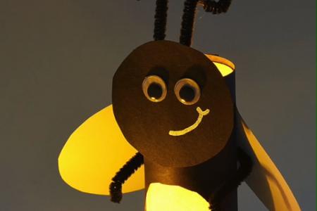 Papierrolle Firefly | Wie man Papierrollen-Glühwürmchen macht