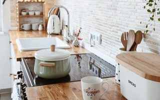 # Bauernhaus Küche Dekor Ideen # Küche Dekor blaugrün # toskanische Küche Dekor # Küche ...