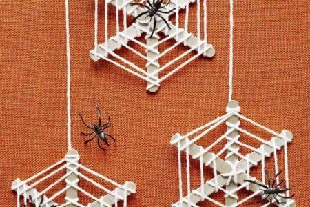 Halloween: DIY-Halloween-Dekor. Auf der Suche nach etwas Spaß und gehören DIY ...